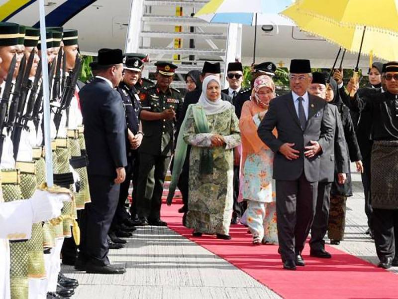 Agong, Permaisuri Adakan Lawatan Rasmi Di Pulau Pinang