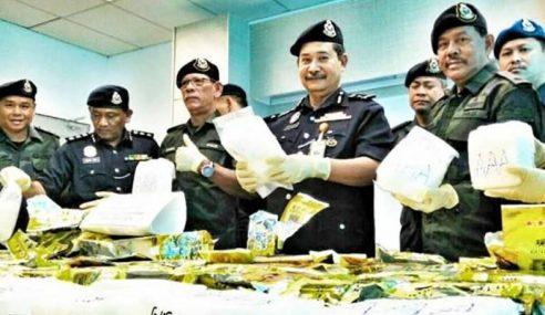 Sembunyi Syabu RM7 Juta Dalam Bungkusan Teh