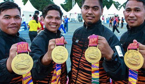 Aksi Hambar Kontinjen Malaysia Berterusan Hari Kelima
