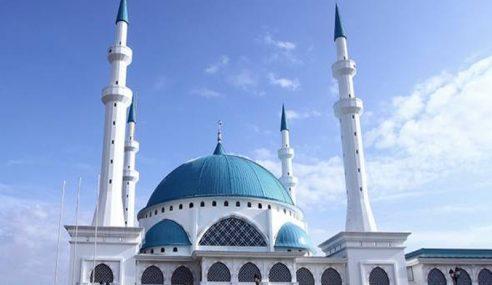 Masjid Sultan Iskandar Masjid Pelancongan Pertama Di Malaysia
