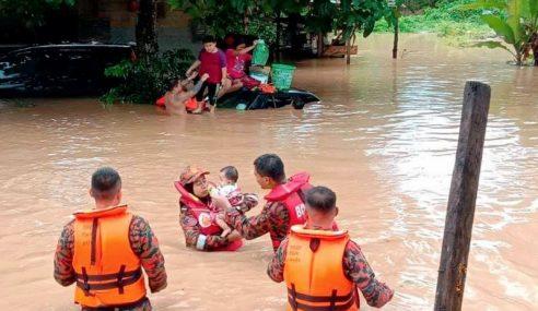Banjir Di Johor Makin Serius