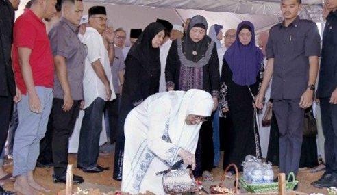 Jenazah Bapa TPM Selamat Dikebumikan