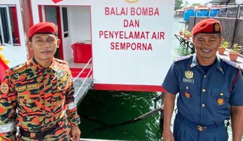 Balai Bomba Atas Air Pertama Di Malaysia Mula Operasi
