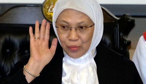 Rohana Wanita Pertama Dilantik Presiden Mahkamah Rayuan