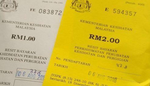 Tahu Tak Bayaran 'Scaling' Di Klinik Kerajaan RM2?