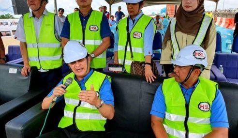 Baru Bian Tak Puas Hati Keadaan Projek Lebuhraya Pan Borneo