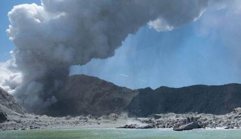 Korban Letusan Gunung Berapi New Zealand Meningkat 5 Orang
