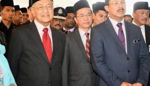 Zuki Ali Dilantik Ketua Setiausaha Negara Baharu