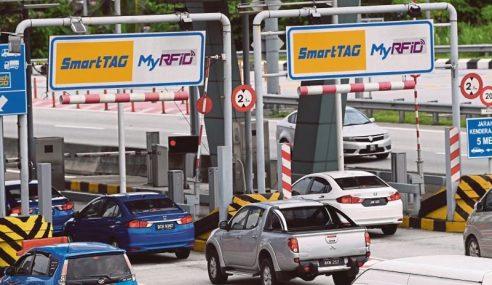 Transaksi RFID Di 10 Plaza Tol Sistem Terbuka PLUS
