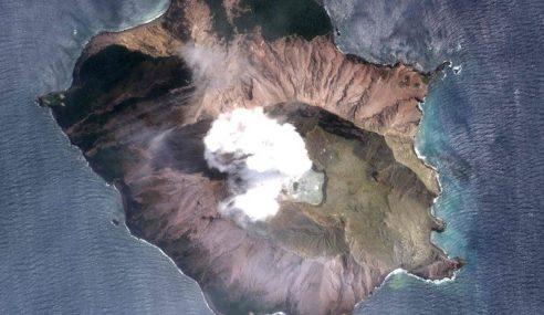 Korban Letusan Gunung Berapi New Zealand Meningkat 8 Orang