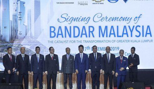 Apa PH Cuba Sembunyi Dalam Isu Bandar Malaysia? – Najib