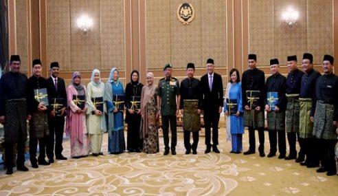 Agong Bangga Pelantikan Ramai Hakim Wanita