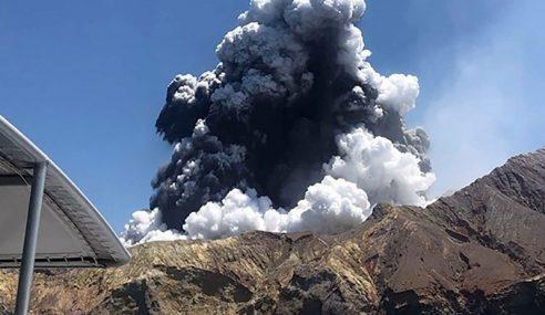 Cuaca Buruk Jejas Operasi Kesan 2 Mangsa Gunung Berapi NZ