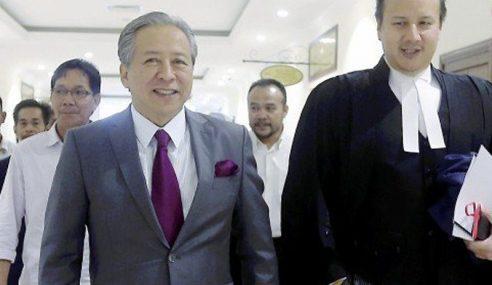 Anifah Aman Gagal Tangguh Keputusan Mahkamah