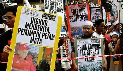 Uighur: Kedutaan China Tolak Memorandum Kali Ke-3