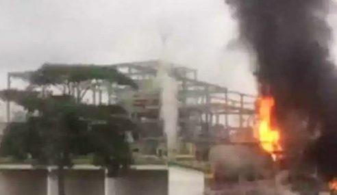 12 Pekerja Kilang Kimia Melecur Akibat Kebakaran