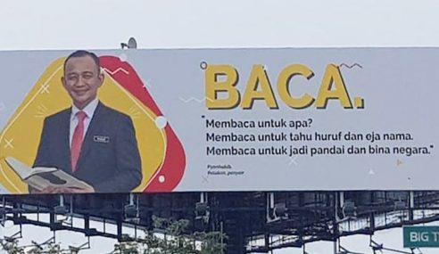 Kadir Kritik 2 Menteri Papar Wajah Di Papan Iklan