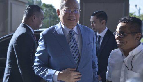 Najib Tidak Bertanggungjawab Atas Akaun Bank Sendiri