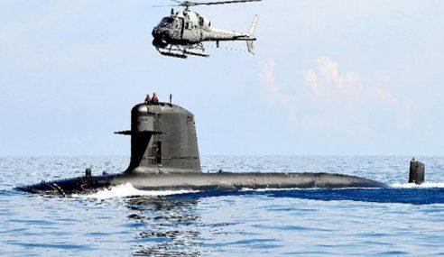 Kos Selenggara Sebuah Kapal Selam RM100 Juta Setahun