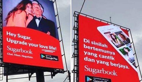 Iklan 'Pelacuran' Terpampang Di Sri Hartamas, Bangsar?