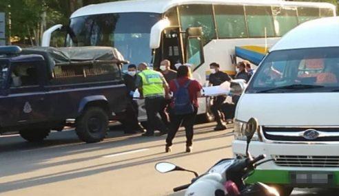 Polis Nafi Lelaki Mati Dalam Bas Sebab Koronavirus