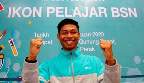 'Usain Bolt Malaysia' Sasar Beraksi Di Olimpik 2024