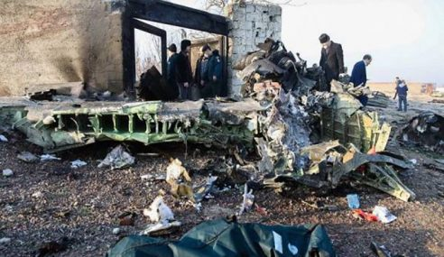 Iran Keluarkan Laporan Nahas Pesawat Ukraine Terhempas