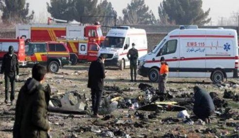 Presiden EC Gesa Siasatan Teliti, Telus Pesawat Ukraine Terhempas