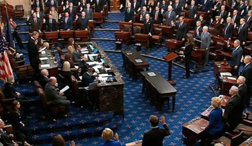Senat Bakal Tentukan Nasib Donald Trump