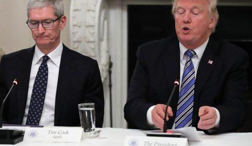 Trump Gesa Apple Bantu Akses Data iPhone Penembak Saudi
