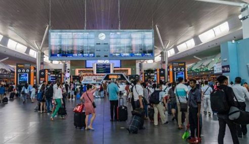 Malaysia Catat Lebih 20 Juta Pelancong Antarabangsa