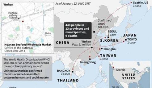 13 Bandar Di China Dikuarantin Akibat Koronavirus
