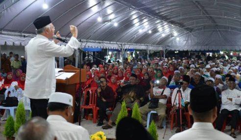 Ada Hikmah Di Sebalik Kekalahan PRU14 – Najib