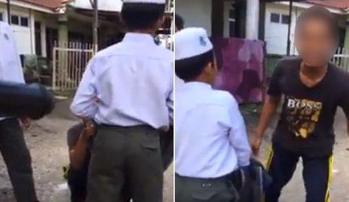 Polis Tahan 4 Remaja Buli Pelajar Sekolah Agama