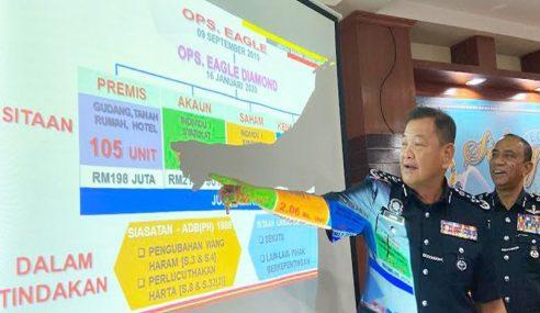 Polis Sita Aset Ketua Sindiket Dadah