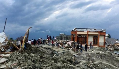 Malaysia Dilanda 181 Gempa Bumi