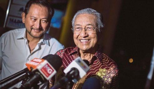 Pangku Menteri Pendidikan Sementara Sahaja – Mahathir