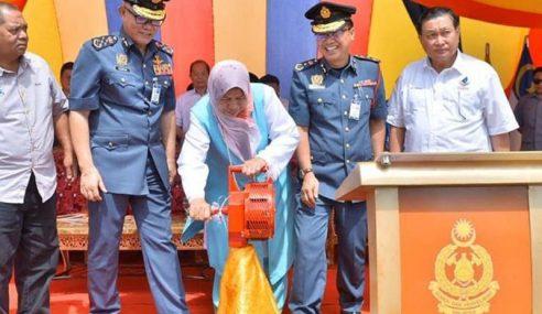 Zuraida Bidas Najib Kritik Rasmi Balai Bomba Kimanis