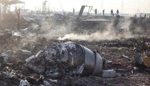 Iran Tahan Individu Rakam Pesawat Ukraine Ditembak