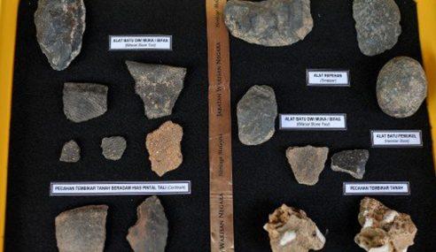 Lebih 100 Artifak Berusia 17,000 Ditemui Di Baling
