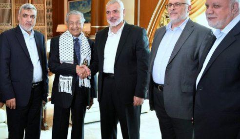 Mahathir Terima Kunjungan Hormat Pemimpin Hamas