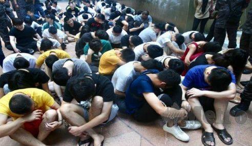 87 Warga China Terlibat Jenayah Dalam Talian Diberkas
