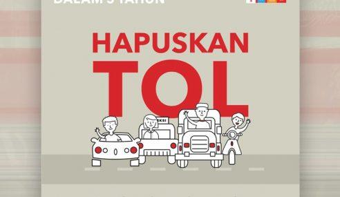 Manifesto PH Mansuh Tol Atau Lanjut Tempoh Konsesi? – Najib