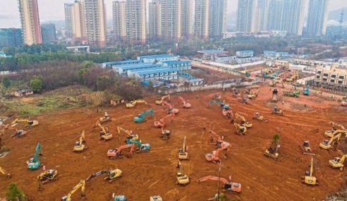 China Bina Hospital Baharu Dalam Masa 10 Hari