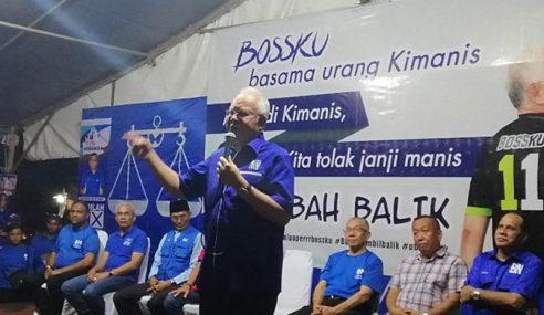 Rehatkan 'Kuda Tua' Karim, Najib Beritahu Pengundi Kimanis