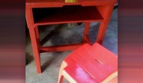 Dakwaan Sekolah Arah Ibu Bapa Beli Kerusi, Meja Disiasat