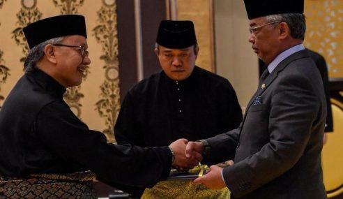 Agong Kurnia Surat Cara Lantik Hakim Besar Sabah, Sarawak