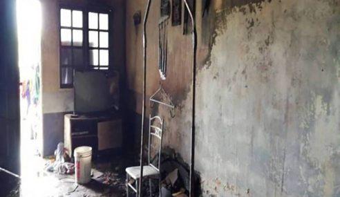 Bayi Ditinggal Sendirian Maut Dalam Kebakaran