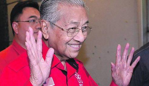Mahathir Sah Letak Jawatan Perdana Menteri