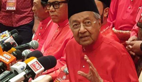 Mahathir Hadir Pertemuan Pemimpin BERSATU